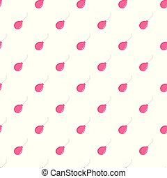 Abortion tool pattern seamless vector