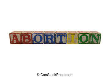 abortion vintage blocks