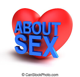 About Sex isolated 3d icon