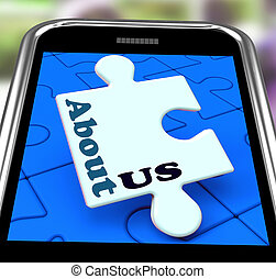 About Us Smartphone Means What We Do Website Section