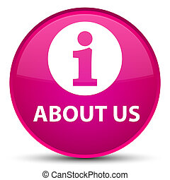About us special pink round button