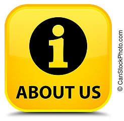 About us special yellow square button