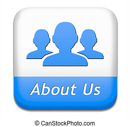 about us - About us button our business or working team...