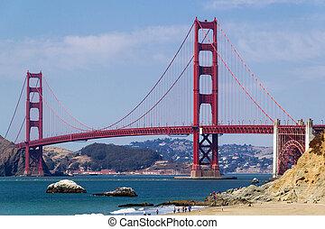 Above Baker Beach San Francisco