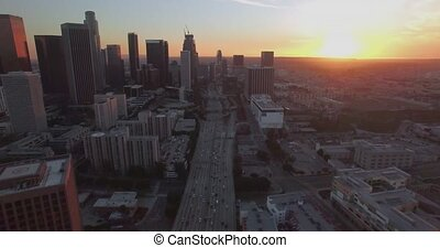 Above Downtown Traffic