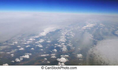 Above Puffy Clouds - Aerial filming above fog and clouds