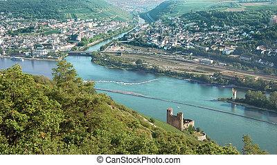 Above River Rhine