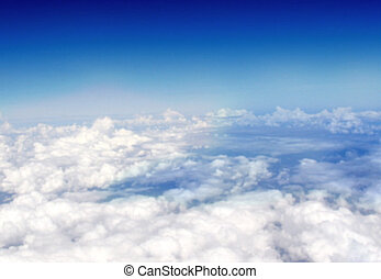 Above the clouds - Blurred for background