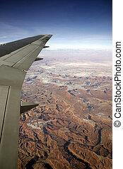 Flying over The Grand Canyon Arizona