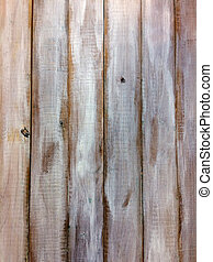 Above view of brown and white wood planks. Abstrackt ...