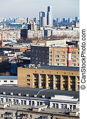 residential district in Moscow