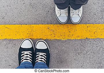above., zapatillas