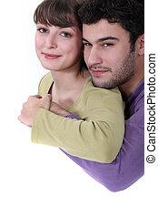 abraçar, par