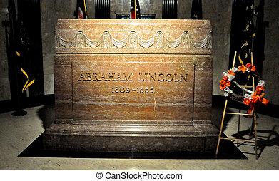 Abraham Lincoln Gravestone