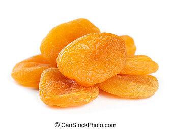 abricots, séché