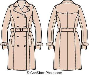 abrigo impermeable