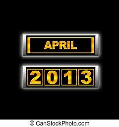 abril, 2013.