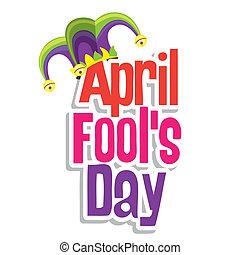 abril, fool's, día