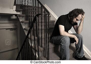 abrumador, depresión