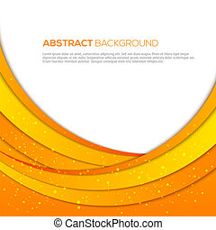 Absatract orange background - 3D absatract orange background...