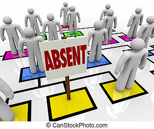 Absent Person on Organizational Chart - Lateness or...