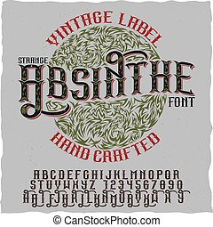 Absinthe Hand Crafted Poster - Absinthe hand crafted poster ...
