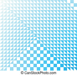 abstract geometric background in light blue tones