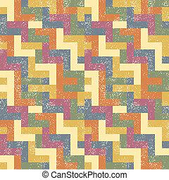 absract, vecteur, pattern., seamless, illustration