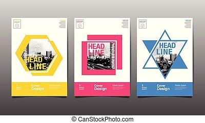 abstact, 樣板, 書, 設計, 覆蓋, 背景, 布局