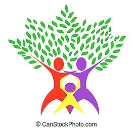 abstact tree family