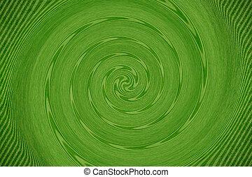 abstarct,  vortex, vert, fond