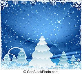 Abstr christmas backgroun