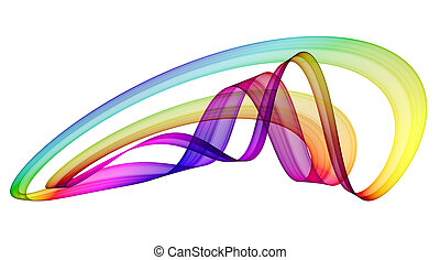 abstração, multicolored