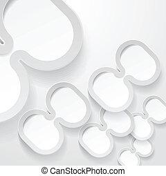 Abstrac ellipse frames background