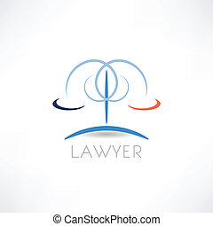 abstracción, icono, ley