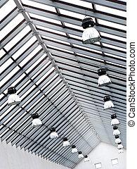 abstracción, techo