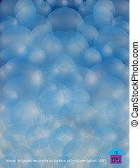 Abstrack Balloon - Abstract background texture with blur...