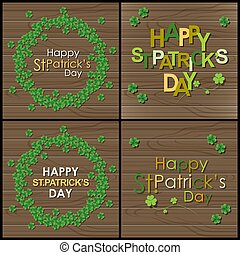 Abstrackt of St.Patrick's Day, Background Design, Vector and...