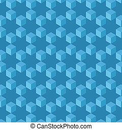 abstract., 立方体, 背景 パターン, seamless, 星