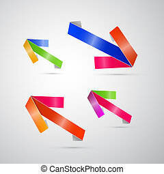 Abstract 3d Arrow Icon