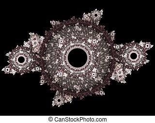 Abstract 3D fractal pattern