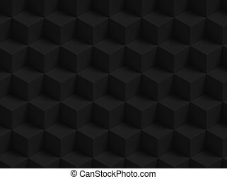 Abstract 3D geometric cubes background