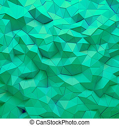 Abstract 3D geometric polygon facet background