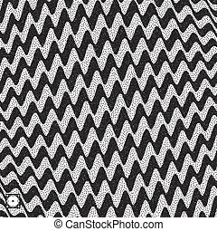 Abstract 3D geometrical background. Black and white grainy...