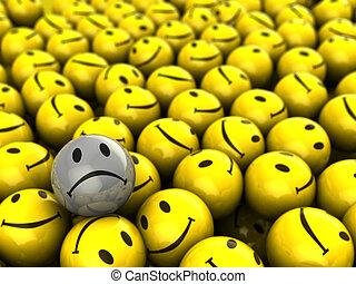 one unhappy