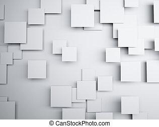 abstract, 3d, vorm, geometrisch