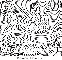 abstract 4 - vector - illustration of abstract - vector