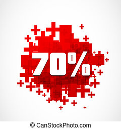abstract 70 percent off background - abstract 70 percent off...