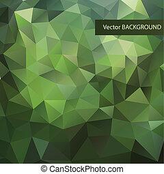 abstract, achtergrond, driehoeken, geometrisch