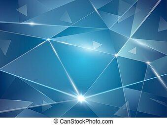 abstract, achtergrond, driehoeken
